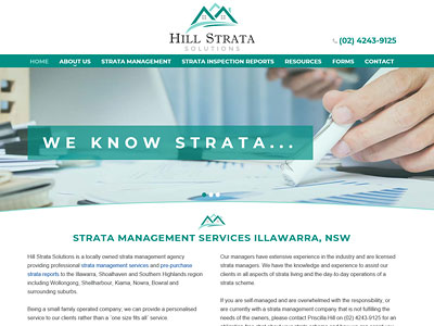 HILL STRATA SOLUTIONS